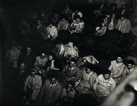 palace theater by weegee