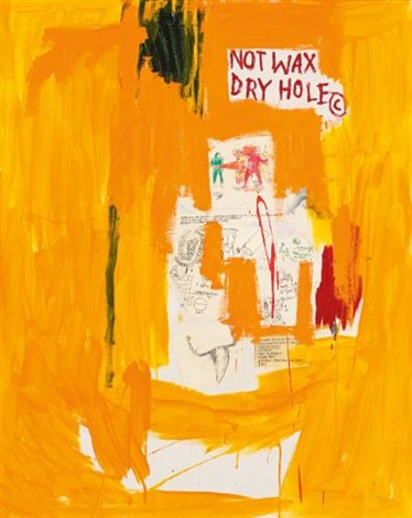 orange by jean michel basquiat