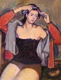 woman by michel adlen