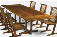 dining table by george nakashima