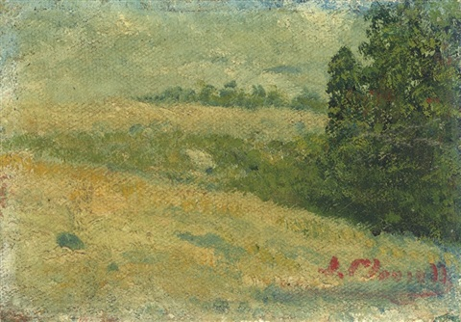 paisaje by joaquín clausell