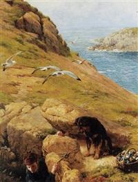 the gull catcher by james clarke hook