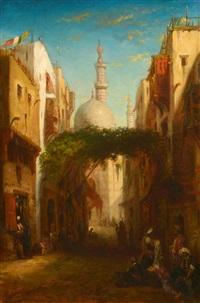vue du caire by etienne billet