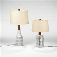 table lamps (pair) by gordon and jane martz