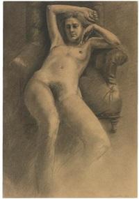 desnudo en un sillón by darío morales