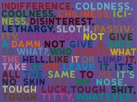 indifference by mel bochner
