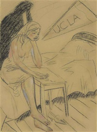 ucla heartbreak by ronald brooks kitaj