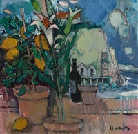 lilies & lemons by the white cliffs by donald manson
