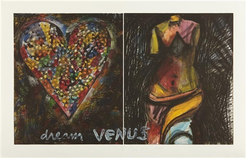 dream venus 2 plates by jim dine