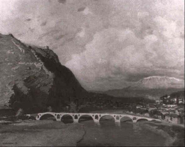 berat albanien by anton hans karlinsky