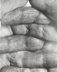 interlocking fingers, no.1 by john coplans