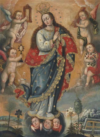 immaculate conception by peruvian school cuzco