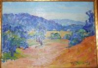new hampshire hills, near baker lake by henry ryan macginnis
