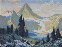 mount assiniboine by barbara (barleigh) leighton
