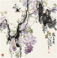 报春图 by jiang feng