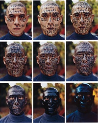 family tree (9 works) by zhang huan