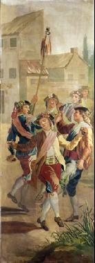 majos bailando by francisco javier amerigo y aparici