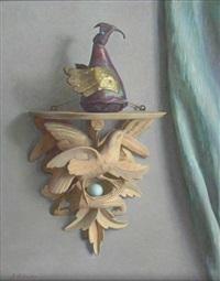 still life with ornament on a braket by john bulloch souter