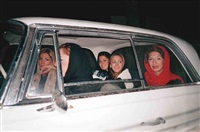 girls in car by shirin aliabadi