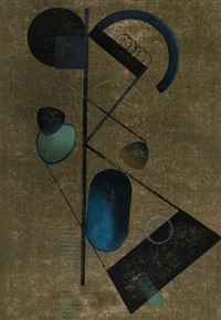 abstract composition by charles william smith