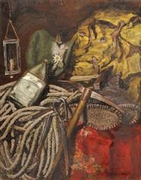 nature morte au piolet by lothar bader
