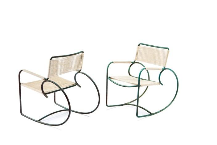 Sensational Rocking Chairs Model C 5701Set Of 2 By Walter Lamb On Artnet Inzonedesignstudio Interior Chair Design Inzonedesignstudiocom