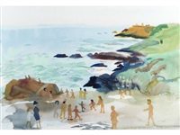 the beach by fred yates