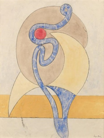 volutes by auguste herbin