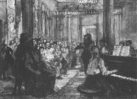 scène de concert by eugenia antipova