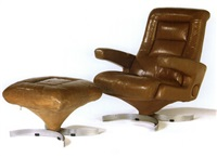 lounge chair and ottoman by airborne