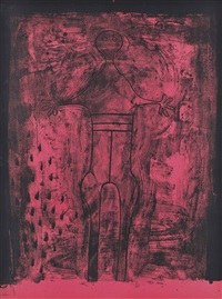affiche avant lettre, from: las mujeres by rufino tamayo