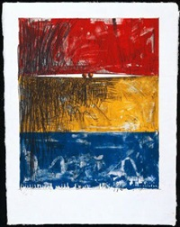 kunsthalle bern (painting with two balls) by jasper johns