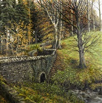 bridge over the stream by eugene conway