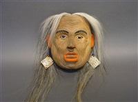 mask (+ earrings, set of 2) by corey bulpitt