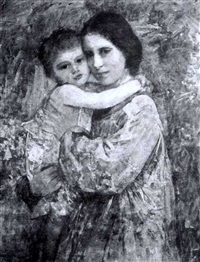 mother and child by florence veric hardy small