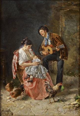 la jeune famille by edoardo matania