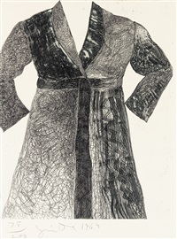 bathrobe (from new york ten) by jim dine
