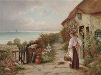 the seaside cottage by henry walton