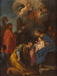 adoration of the magi by pedro alexandrino