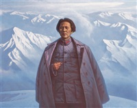 万水千山只等闲——毛泽东 (mao in long march) by xian xiaoqian