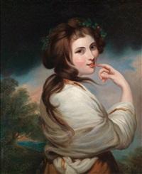 bildnis der emma, lady hamilton by joshua reynolds