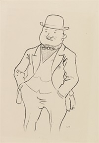 schieber by george grosz