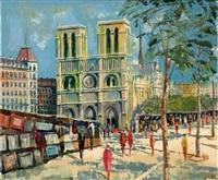 la cathédrale notre-dame, paris by carlo battisti