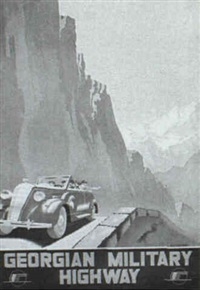 georgian military highway by a. jitomirsky