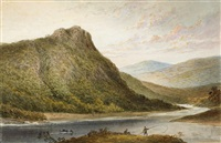 four views of killarney (4 works) by thomas lindsay