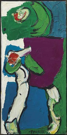 untitled chelsea people series by karel appel