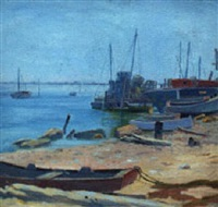 beached, clinton, ct by ethel paxson