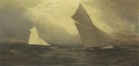 the 1885 america's cup race,