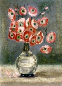 bouquet de pavots by eduardo abela