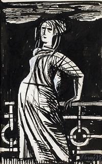žena na nábřeží by karel cerný